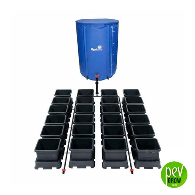 Sistema de cultivo Hidropónico Autopot Easy2grow Flexi-tank 24 Pots