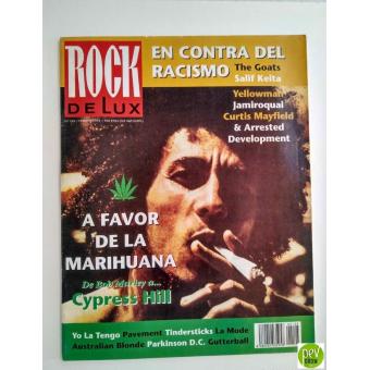 Rock De Lux Magazine 105: Marijuana, Bob Marley, Cypress Hill, Jamiroquai (febbraio 1994)