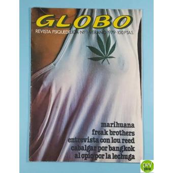 Globo Psychedelic Magazine Nº 1