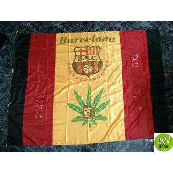 Barcelona Sporting Club De Guayaquil Flag (Ecuador)