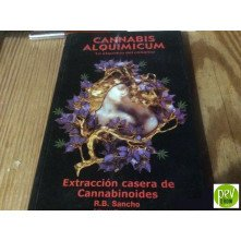 Book Cannabis Alquimicum. Home extraction of cannabinoids. R.B. Sancho