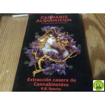 Livre Cannabis Alquimicum. Extraction maison de cannabinoïdes. R.B. Sancho