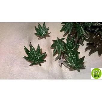 Marijuana Pin 80's