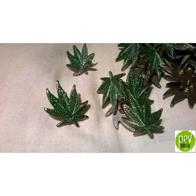Pin De Marihuana Años 80
