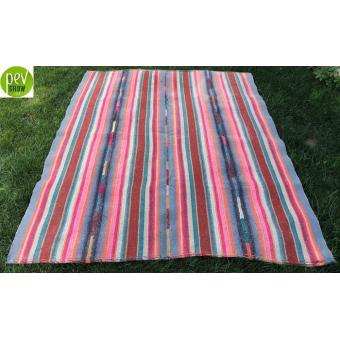 Natural hemp kilim (170cmx 224cm)