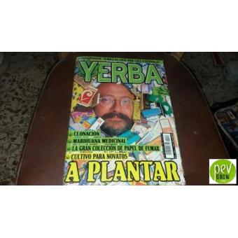 YERBA Rivista di marijuana  anno 2002 N° 6