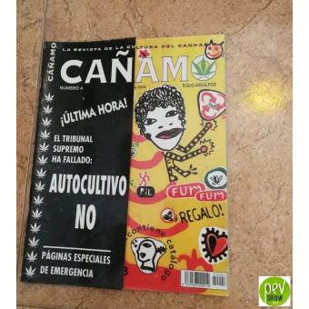 Zeitschrift Cáñamo Nº 4 (1997)