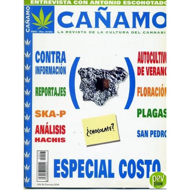Zeitschrift Cáñamo Nº 7 (1998)