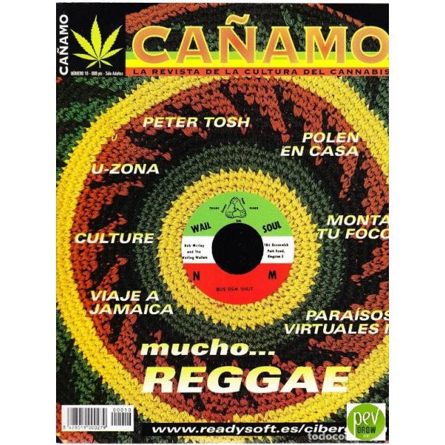 Revista Cáñamo Nº 10 (1998)