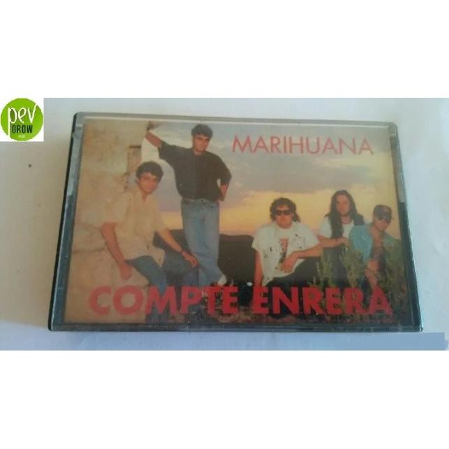 Cinta Cassette Compte Enrera - Marihuana