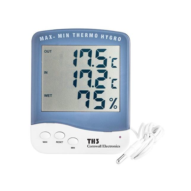 Thermohygromètre Min/Max numérique Sonde
