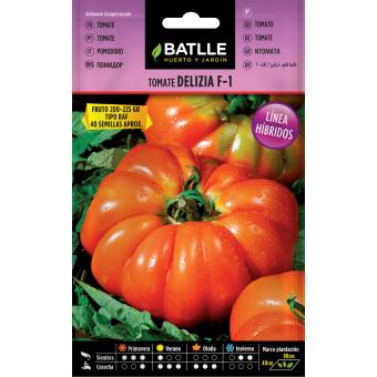 Semillas de Tomate Delizia  0,12 gr.