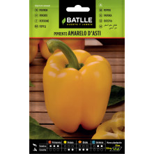 Yellow Square Pepper Seeds 1gr.