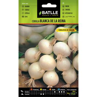 Semillas de cebolla blanca 4gr.