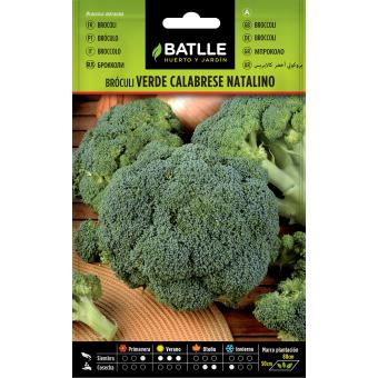 Semillas de Bróculi Verde 8gr.