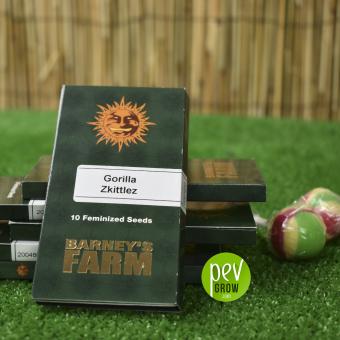 Gorilla Zkittlez package - Barney's Farm