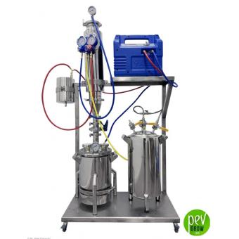 Système d'extraction BHO circuit fermé 550g