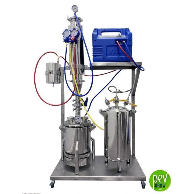 Sistema de extracción BHO circuito cerrado 550g