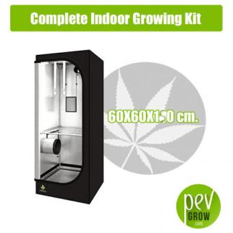 Complete Indoor Growing Kit 60X60X140 cm.
