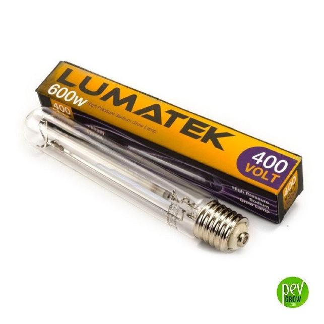 Lumatek HPS 600w PRO 400V Glühbirne