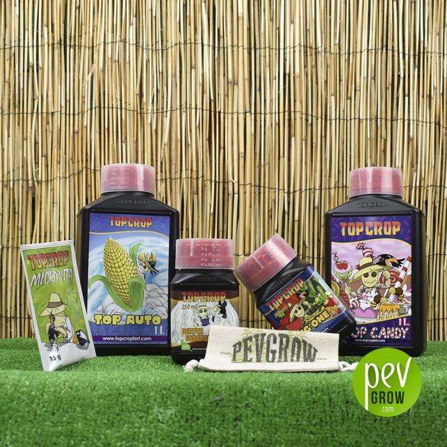 Pack de Fertilizantes Top Crop Autoflorecientes