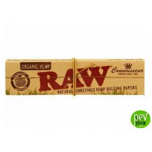 Raw Connoisseur Organic King Size Slim + Tips