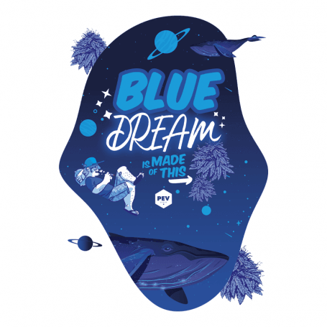 Camiseta Blue Dream by PEV Seeds