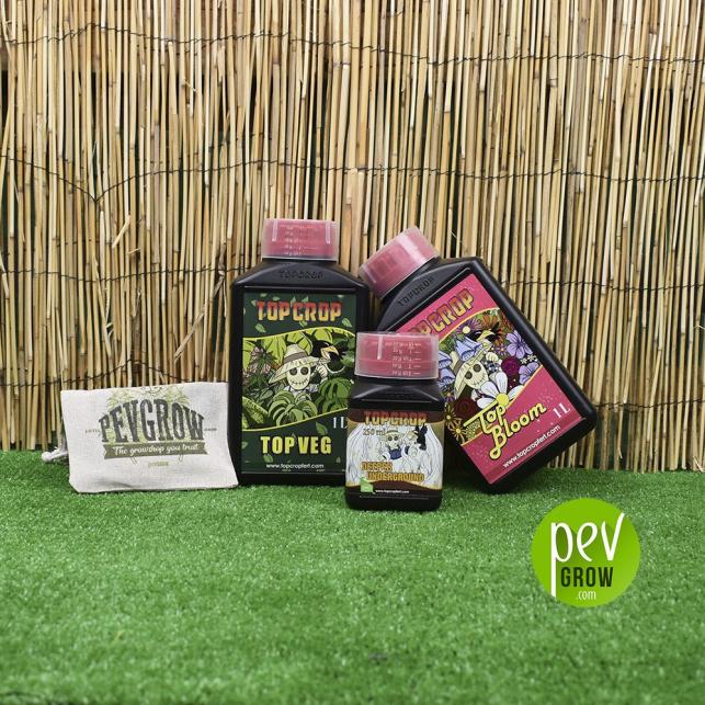 Pack de Fertilizantes Top Crop Principiante