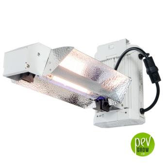 Kit de iluminación Phantom Ended 1000W con reflector abierto.