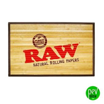 Raw Tapis de sol en bambou