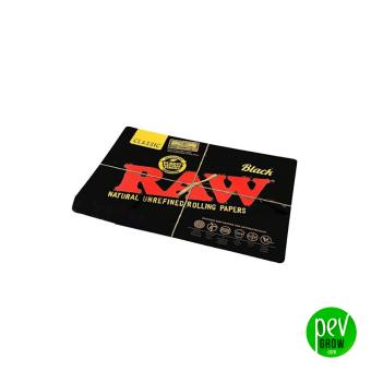 Raw Tapis de souris noir