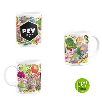 Keramiktasse von Pev Seeds