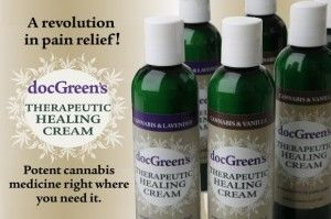 Doc Greens Therapeutic Healing Cream Cannabis Lotion Pain Relief 6