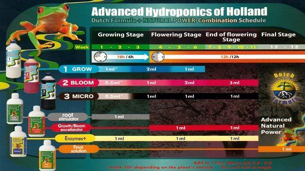 ScheduleAdvancedHidroponics