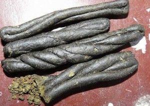 Charas: a psychoactive delicatessen