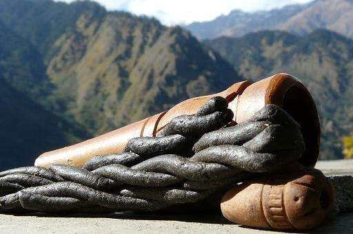 "Charas, also known as the ""black gold of the Himalaya"""
