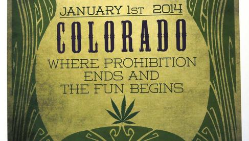 Colorado legalized it in January 2014