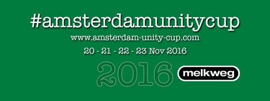 Unity Cup, aura lieu à Melkweg, Amsterdam