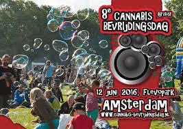 A Amsterdam, la huitième édition de la manifestation Cannabis Liberation Day