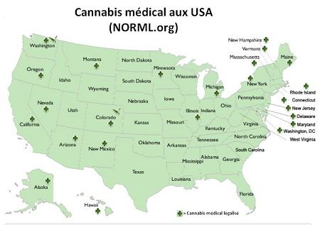 The medical cannabis in the United States