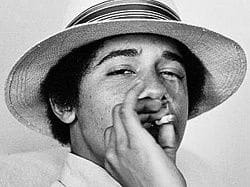 The president of the USA, Barack Obama, admitted having smoked marijuana when he was young.