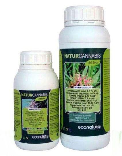 + Résine , un engrais biologique pour la phase de floraison