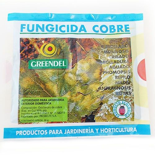 Fungicide Copper Greendel for Hongo / algae / bacteria
