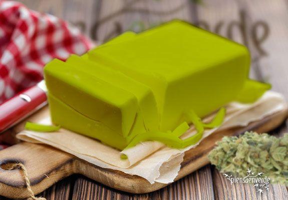 receta de la mantequilla de marihuana