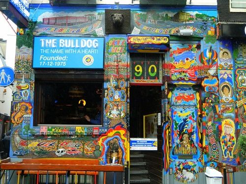 Coffeeshop The Bulldog a Amsterdam