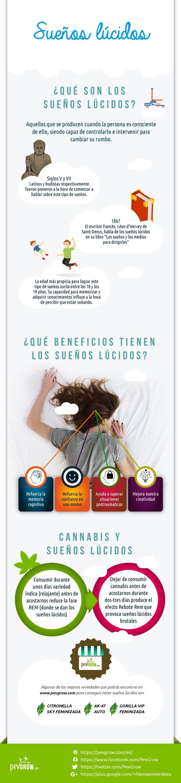 Infografia del sueño lúcido