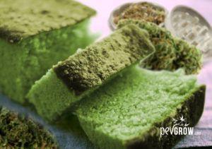Cómo hacer bizcocho / queque de marihuana en 7 pasos