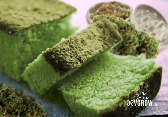 bizcocho / queque de marihuana en 7 pasos