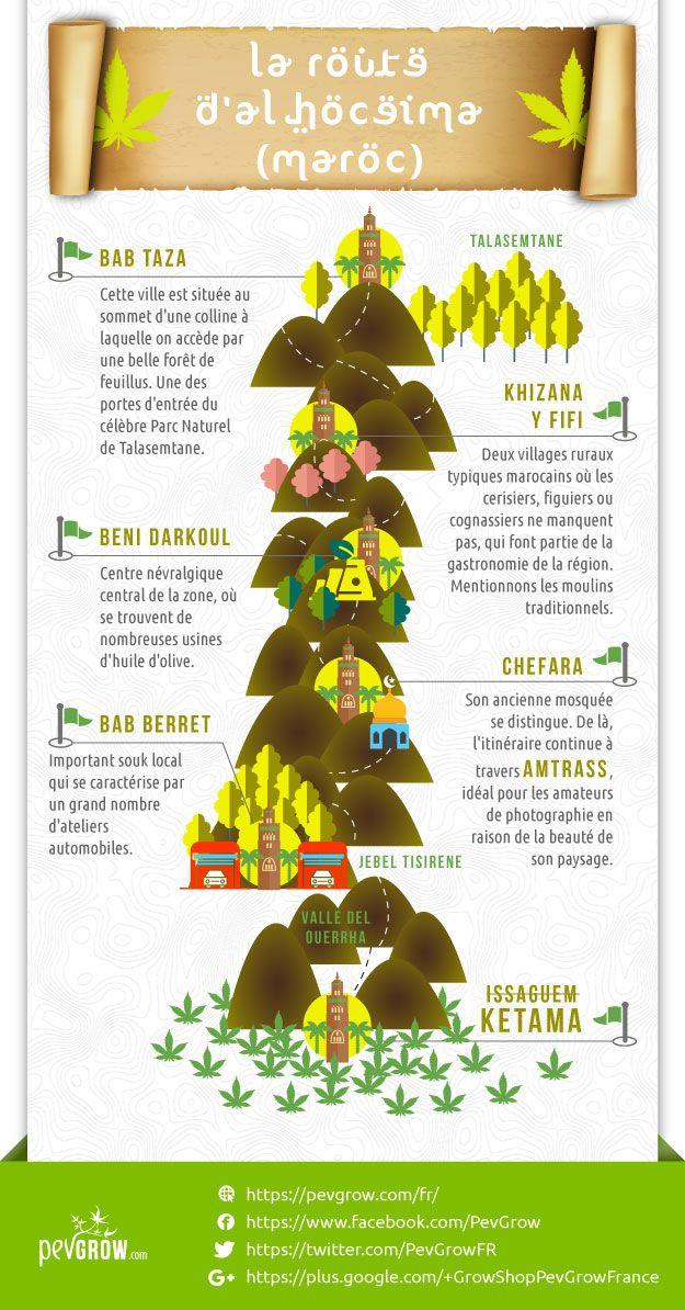 Infographie sur La Route d'Al Hoceima