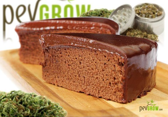 exquisite marijuana chocolate cake